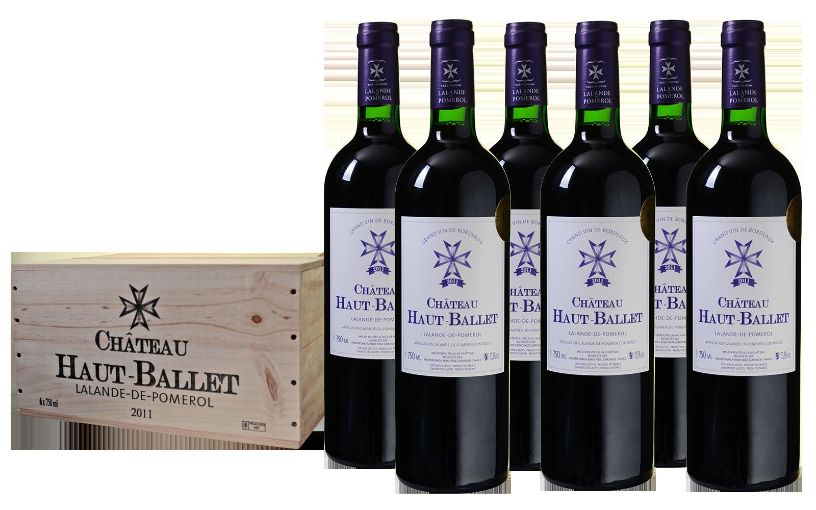 Château Haut-Ballet Lalande de Pomerol Kist