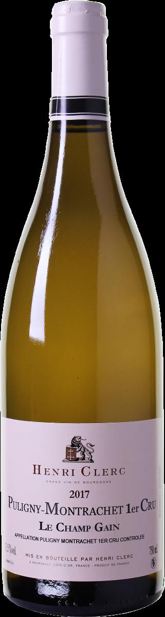 Henri Clerc 'Les Champes Gain' Puligny-Montrachet 1er Cru wijnbeurs.nl