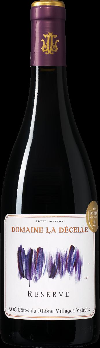 Domaine la Decelle Réserve Côtes du Rhône Villages wijnbeurs.nl