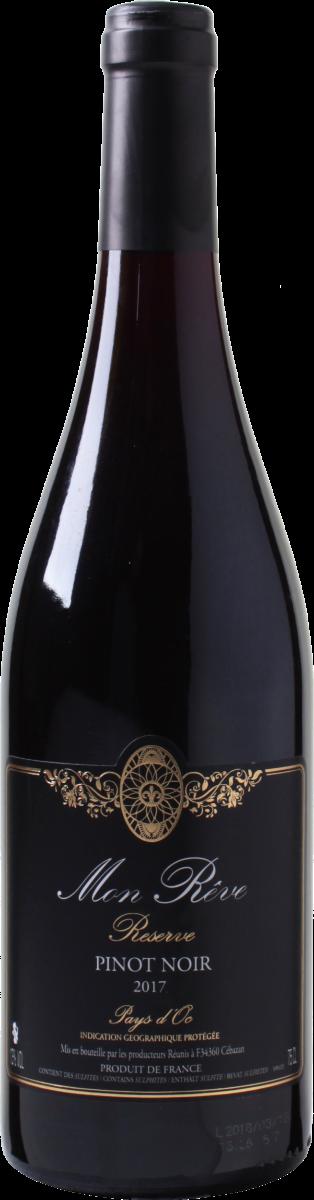 Mon Rêve Réserve Pinot Noir wijnbeurs.nl