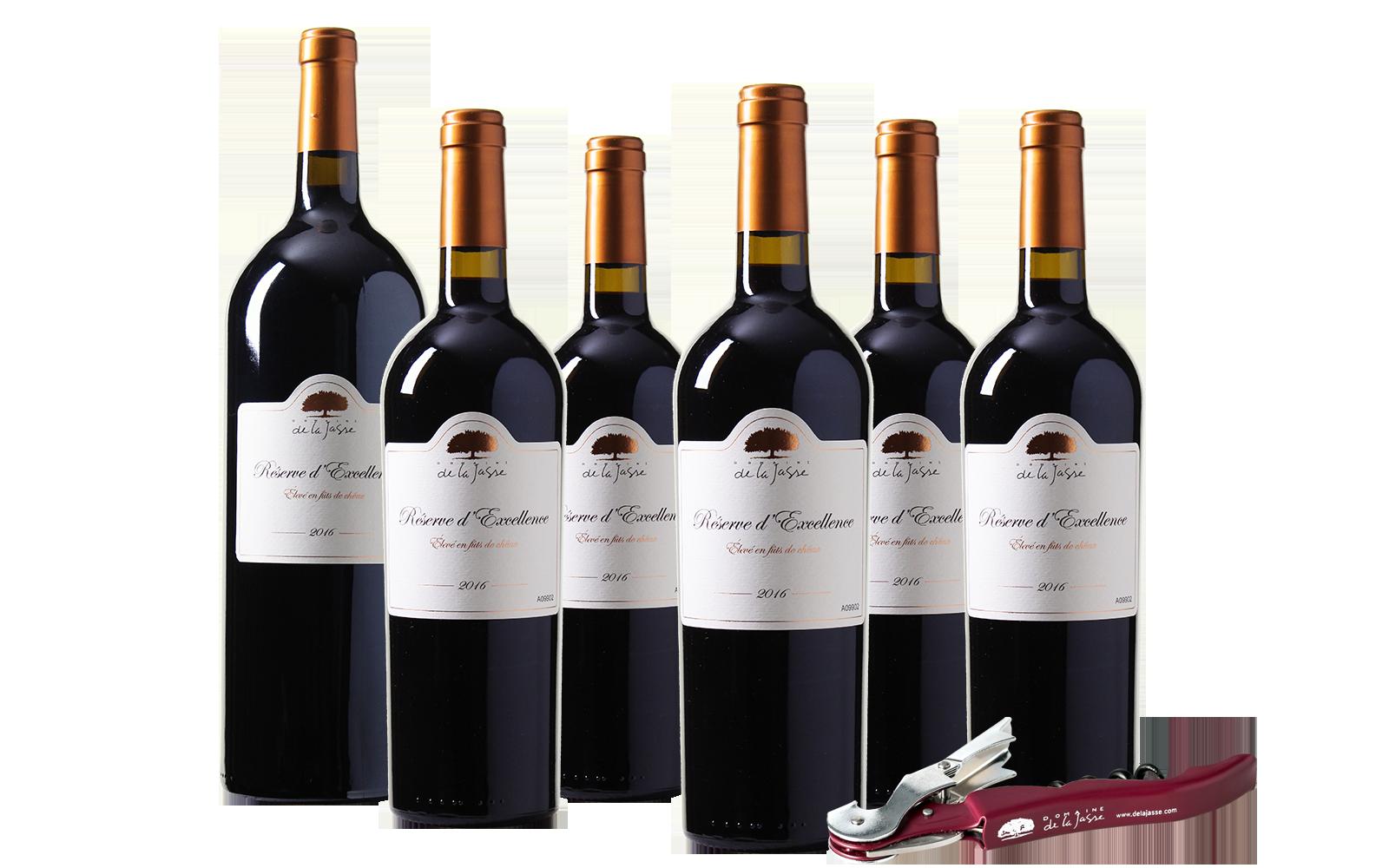 Domaine de la Jasse Réserve d'Excellence + Magnumfles wijnbeurs.nl
