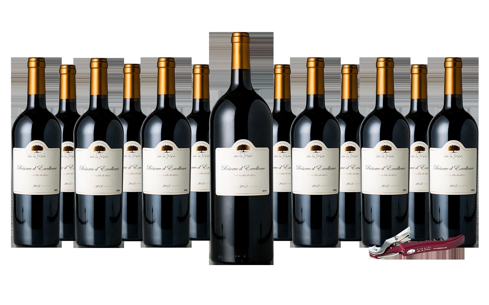 Domaine de La Jasse Réserve d'Excellence Wijnpakket