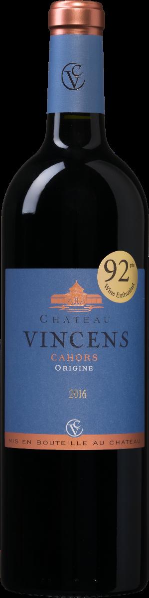 Château Vincens 'Origine' Malbec wijnbeurs.nl