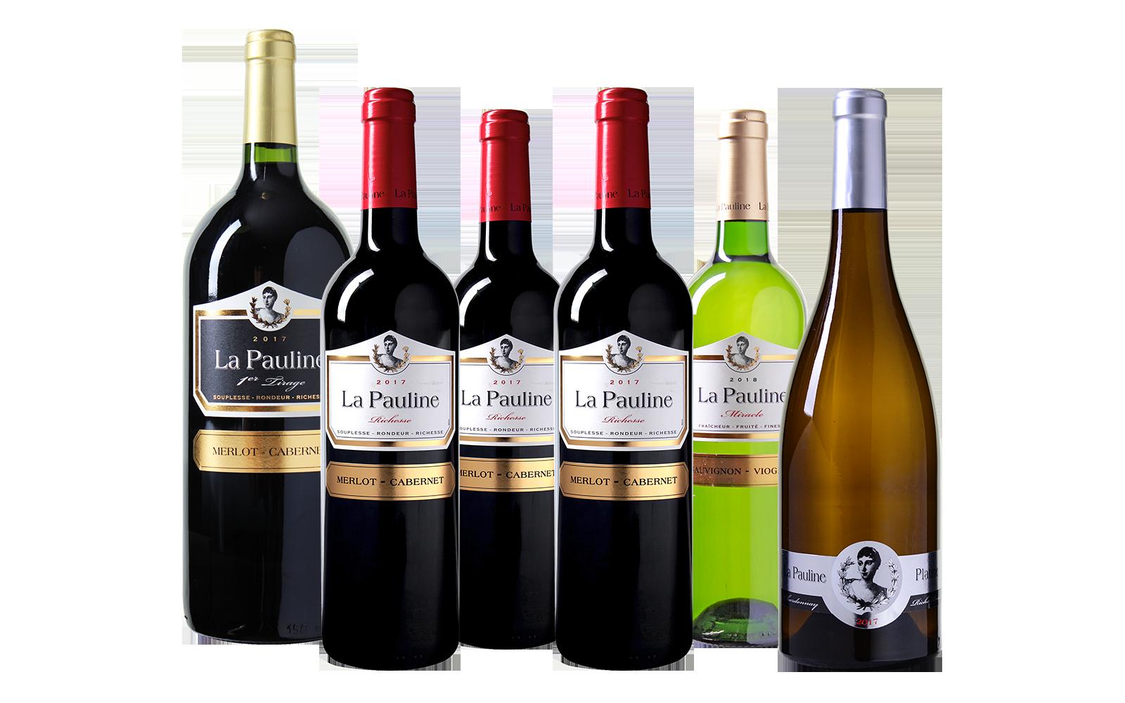 La Pauline Wijnpakket wijnbeurs.nl