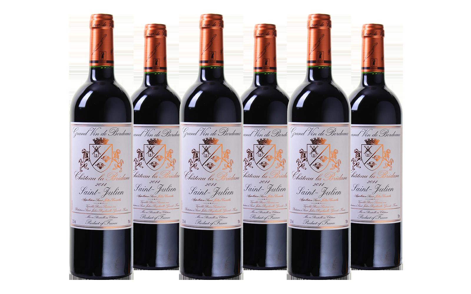 Château la Bridane Cru Bourgeois Saint-Julien wijnbeurs.nl
