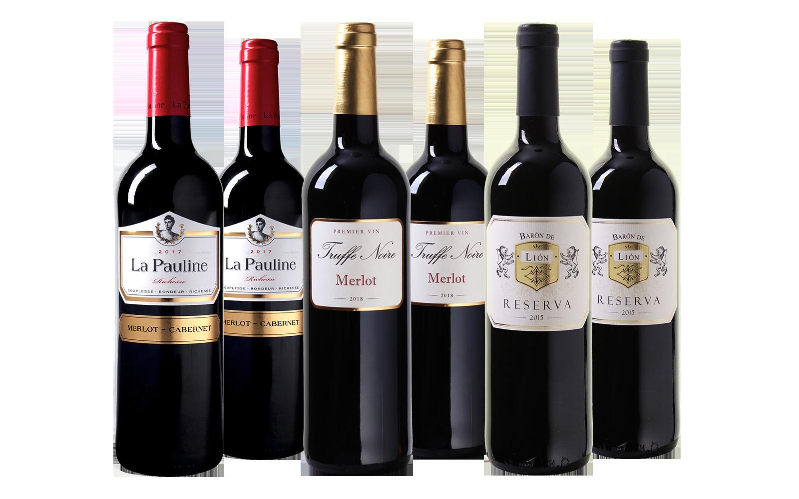 Wijnbeurs Top 3 Wijnpakket