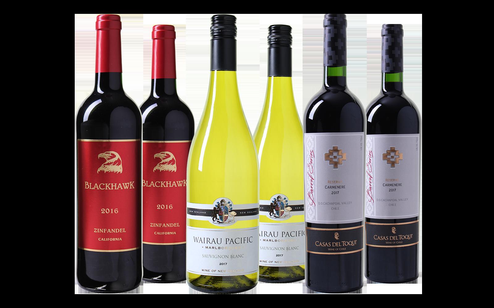 Nieuwe Wereld Wijnpakket