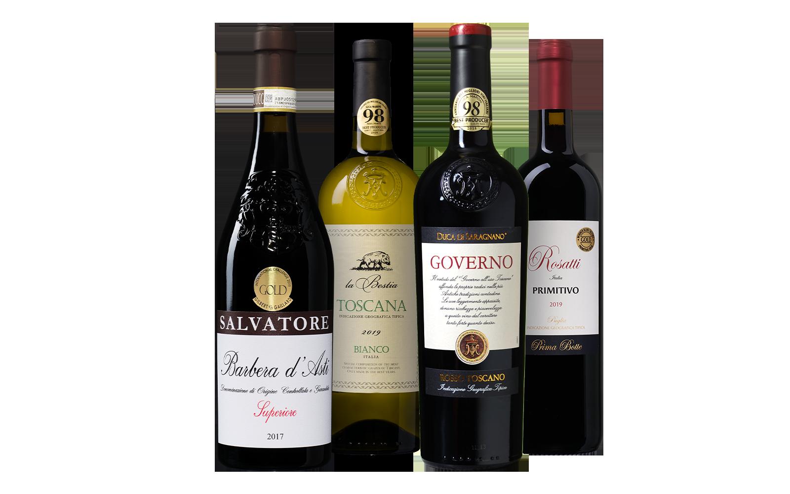 Italiaans Wijnpakket wijnbeurs.nl