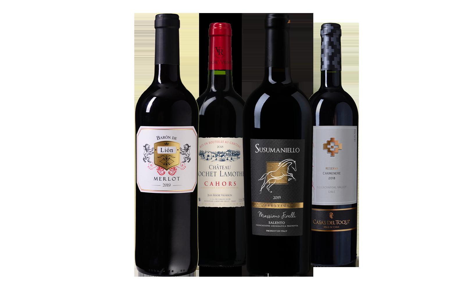 Rood Wijnpakket wijnbeurs.nl