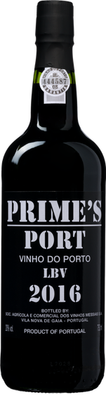 Prime's Port Late Bottled Vintage Port