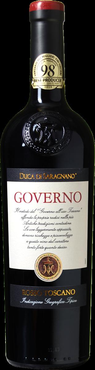 Duca di Saragnano Governo wijnbeurs.nl