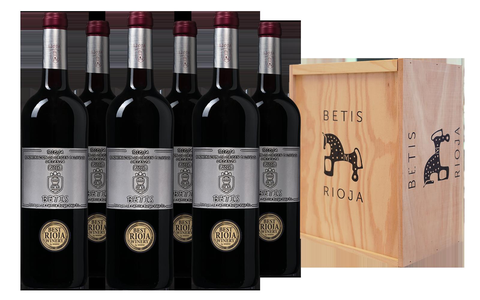 Betis Rioja Crianza Kist