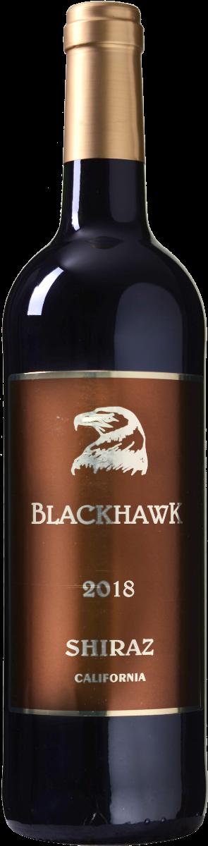 Blackhawk Shiraz <br/>EUR 9.99 <br/> <a href='https://tc.tradetracker.net/?c=14877&m=561798&a=292524&r=zinf&u=https%3A%2F%2Fwww.wijnbeurs.nl%2Fblackhawk-shiraz' target='_blank'>Bestel</a>