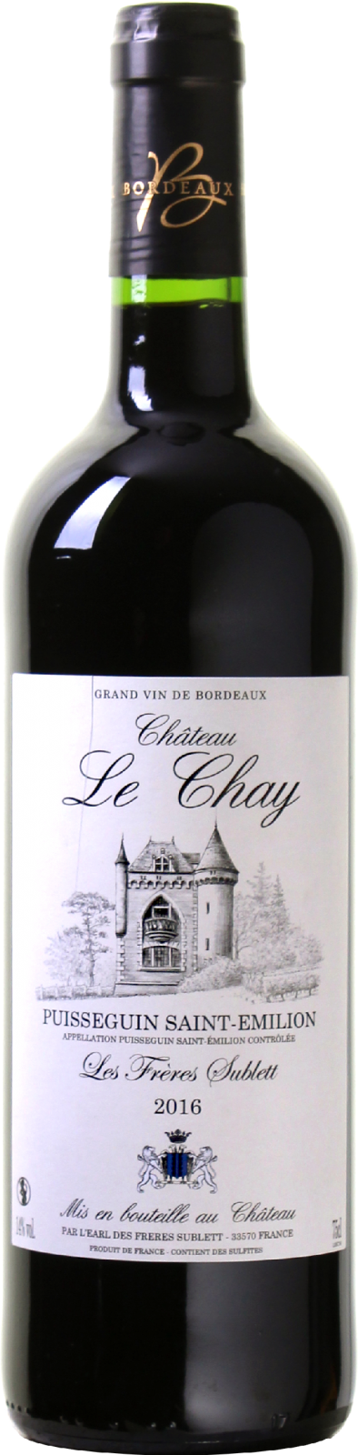 Ch�teau le Chay Puisseguin-Saint-�milion