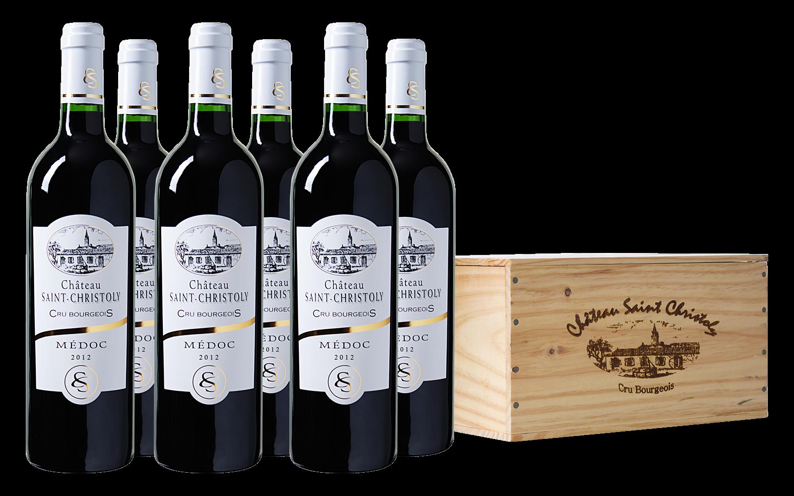Château Saint Christoly Cru Médoc Bordeaux wijnbeurs.nl