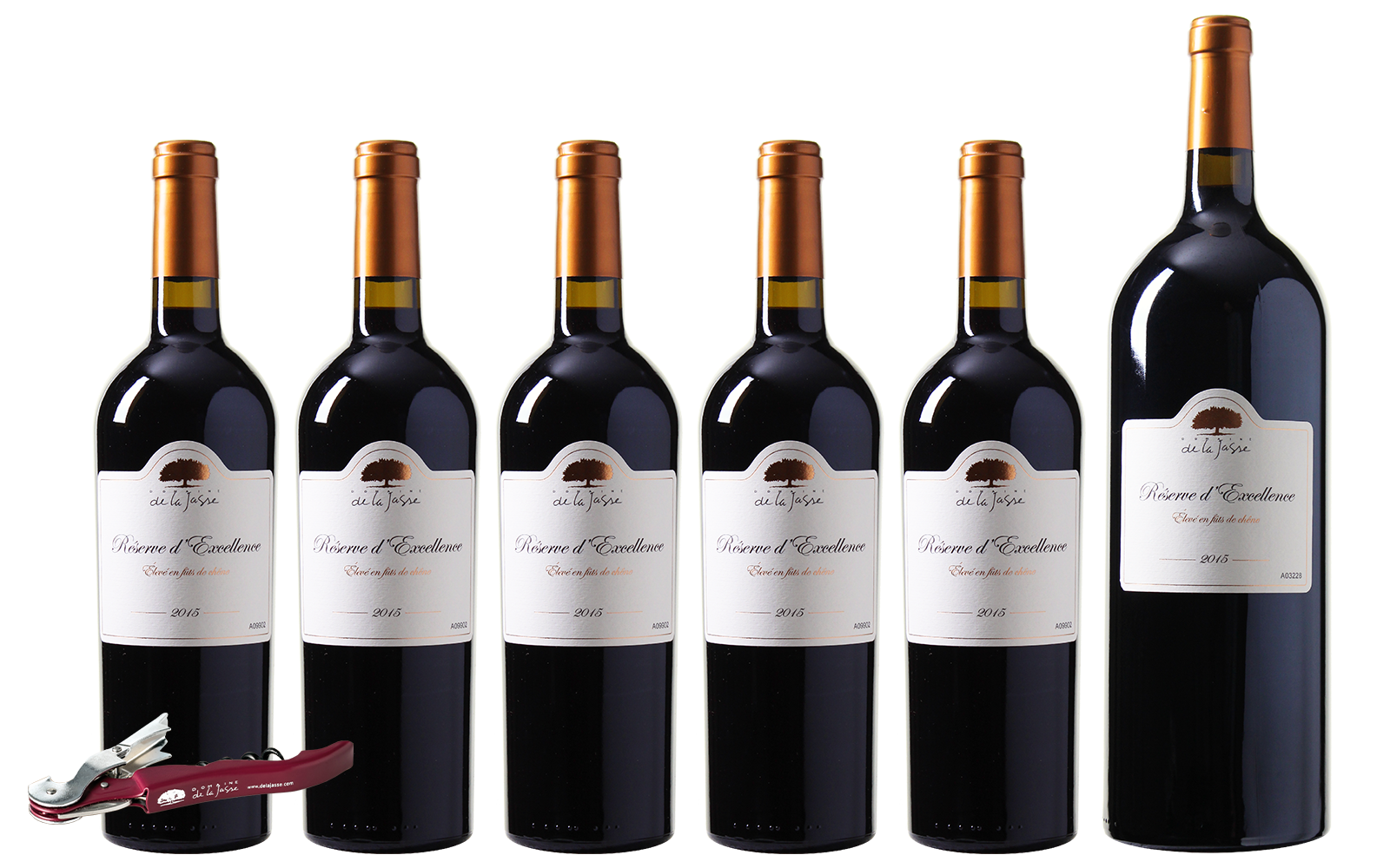Domaine de la Jasse R�serve d'Excellence + Magnumfles