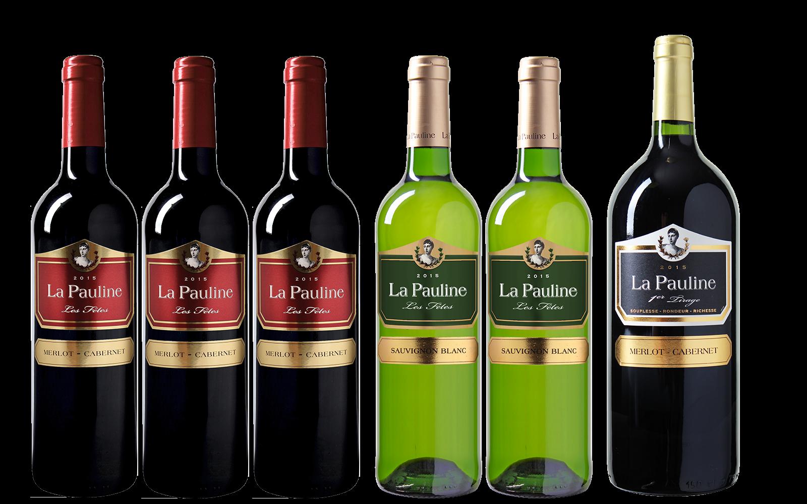 La Paulines Les F�tes Wijnpakket