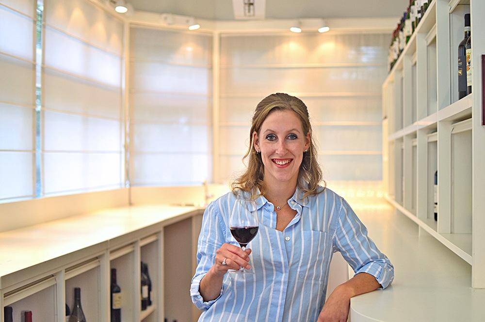 Het wijnbeurs proefpanel Chantal