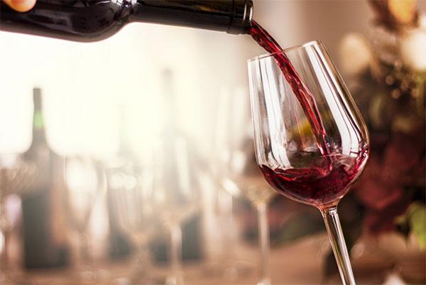 Zachte rode wijn