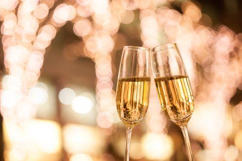 Champagne oud en nieuw