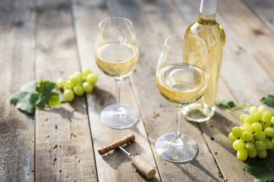 Zachte witte wijn