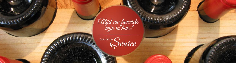 Favorieten service