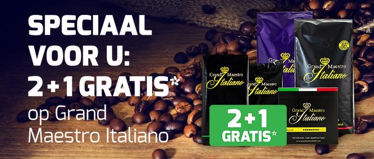 2 + 1 gratis Grand Maestro Italiano