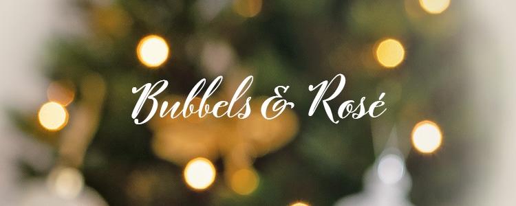 Kerstwijnen - Bubbels & Rosé