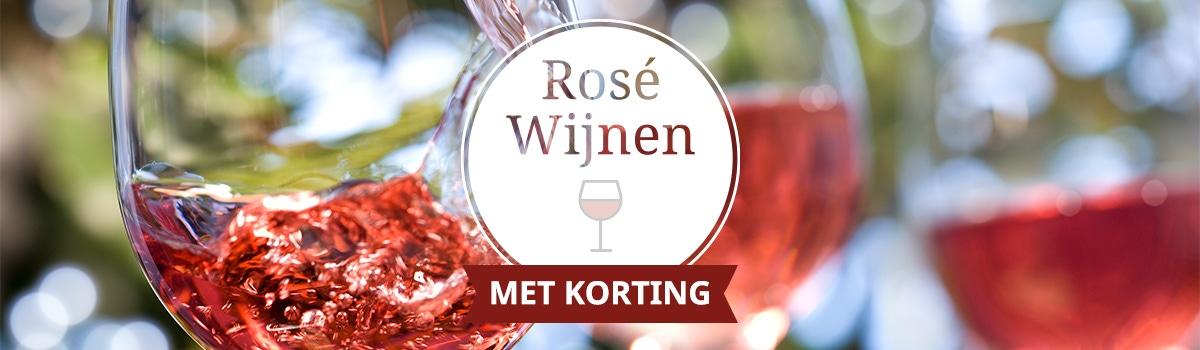 rose wijn korting