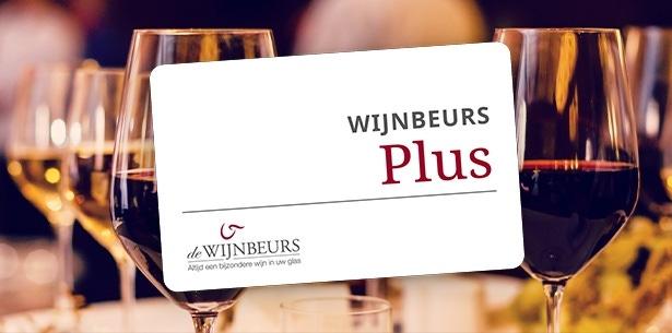 Wijnbeurs Plus lidmaatschap