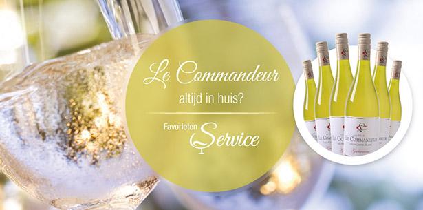 Wijnverhaal Le Commandeur Fume - 1