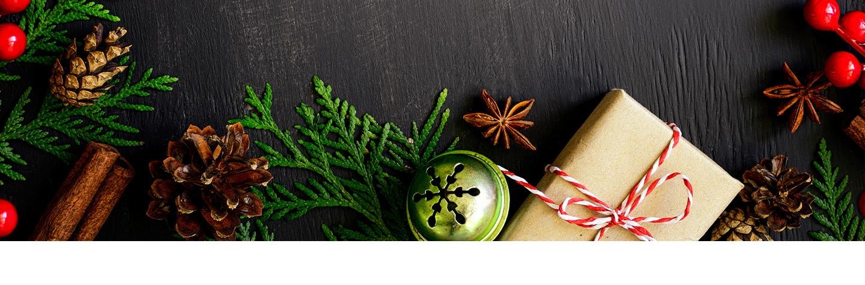 Wijn en kerst gerechten